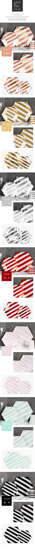 스트라이프 육각 파티접시 20cm 6입 [핑크] _partypang - 파티팡, 2,500원, 파티용품, 식기/테이블/세트