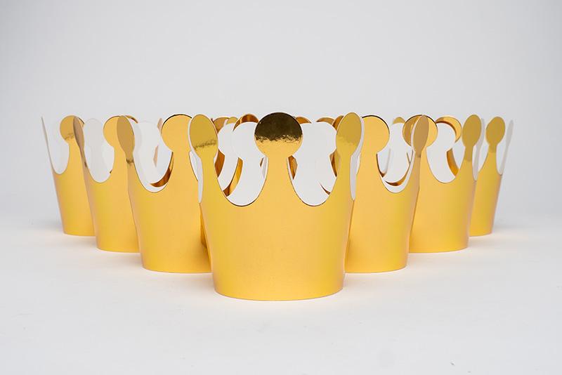 왕관티아라 10입 [유광 골드] _partypang - 파티팡, 3,000원, 파티의상/잡화, 모자/고깔